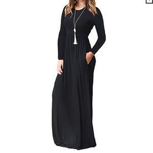 Dresses & Skirts - Long sleeve maxi dress